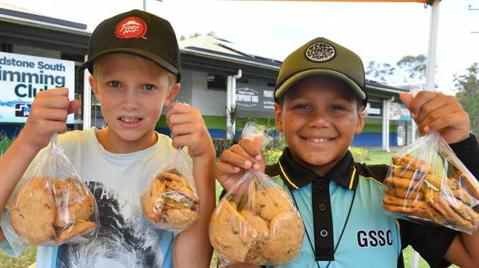 Bushfire bickie boys making a 'big difference'
