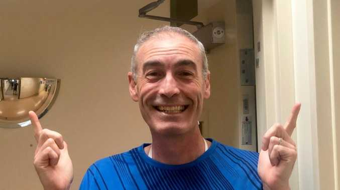 All smiles as Yellow Wiggle discharged from hospital
