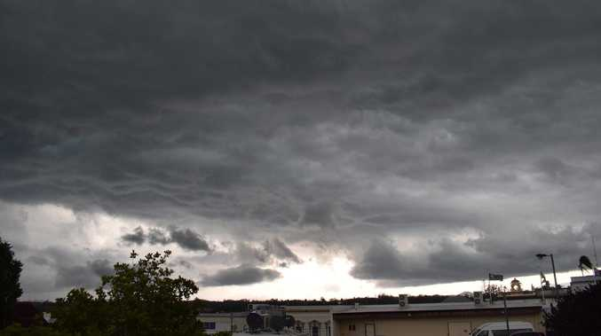 98km/h winds as severe storms bear down