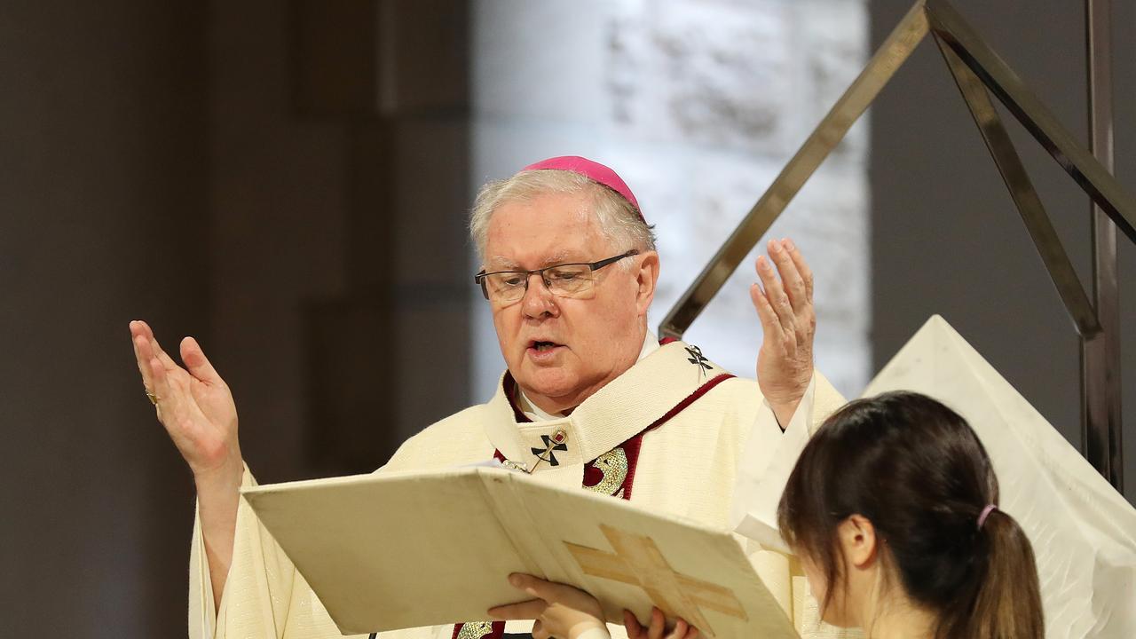 Archbishop of Brisbane Mark Coleridge. Photographer: Liam Kidston.