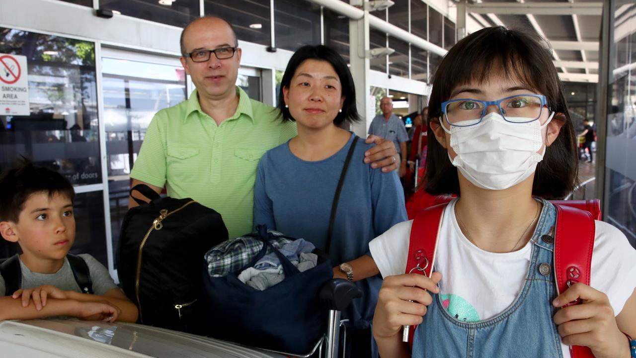 Airport Scanning- Coronavirus Outbreak