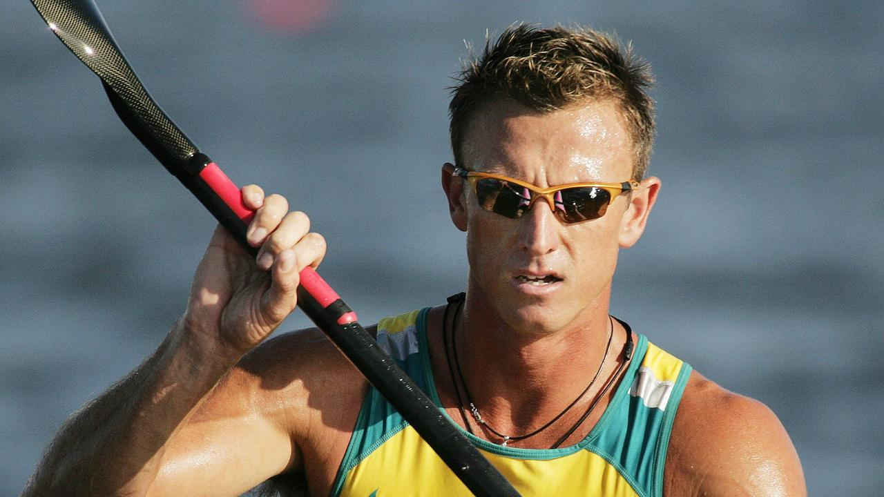 Australian Nathan Baggaley in action at the 2004 Athens Olympic Games.