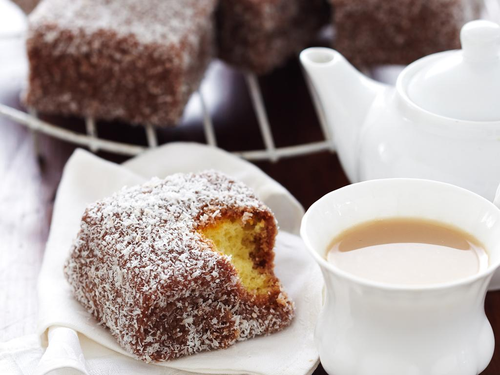 Traditional lamingtons the way you're nanna makes them. Picture: Taste.com.au