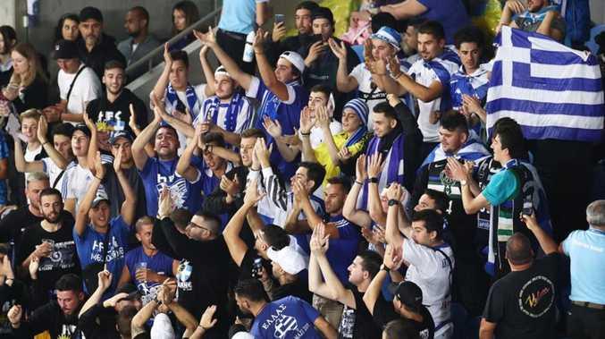 Banned Greek tennis fans slam 'racist' decision