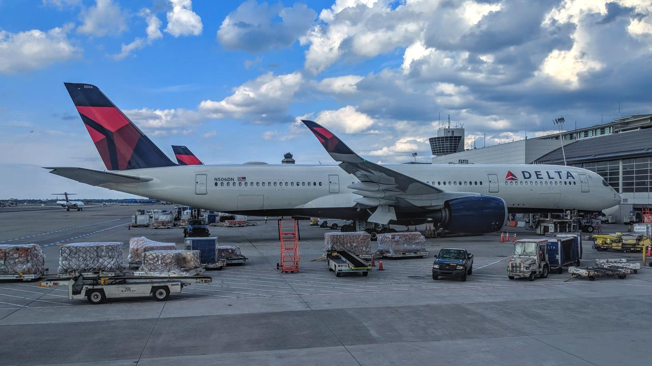 Emergency crews were called to Detroit Metropolitan Airport after the plane's crew sent an alert to police. File image.
