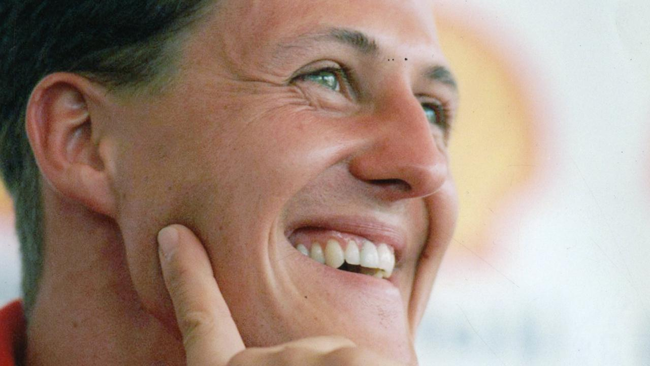 Michael Schumacher suffered a serious brain injury in a skiing accident in 2013. Picture: Supplied