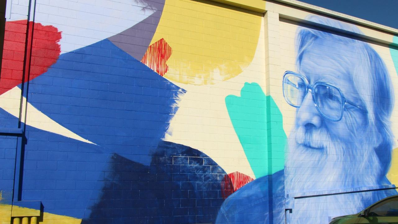 DEMOLITION TIME: The Gatton Squash Court building is set to be demolished in February. This mural, visible when travelling east along Spencer Street, was painted in honour of renowned Gatton teacher Bob Fifoot by artist Claire Foxton.