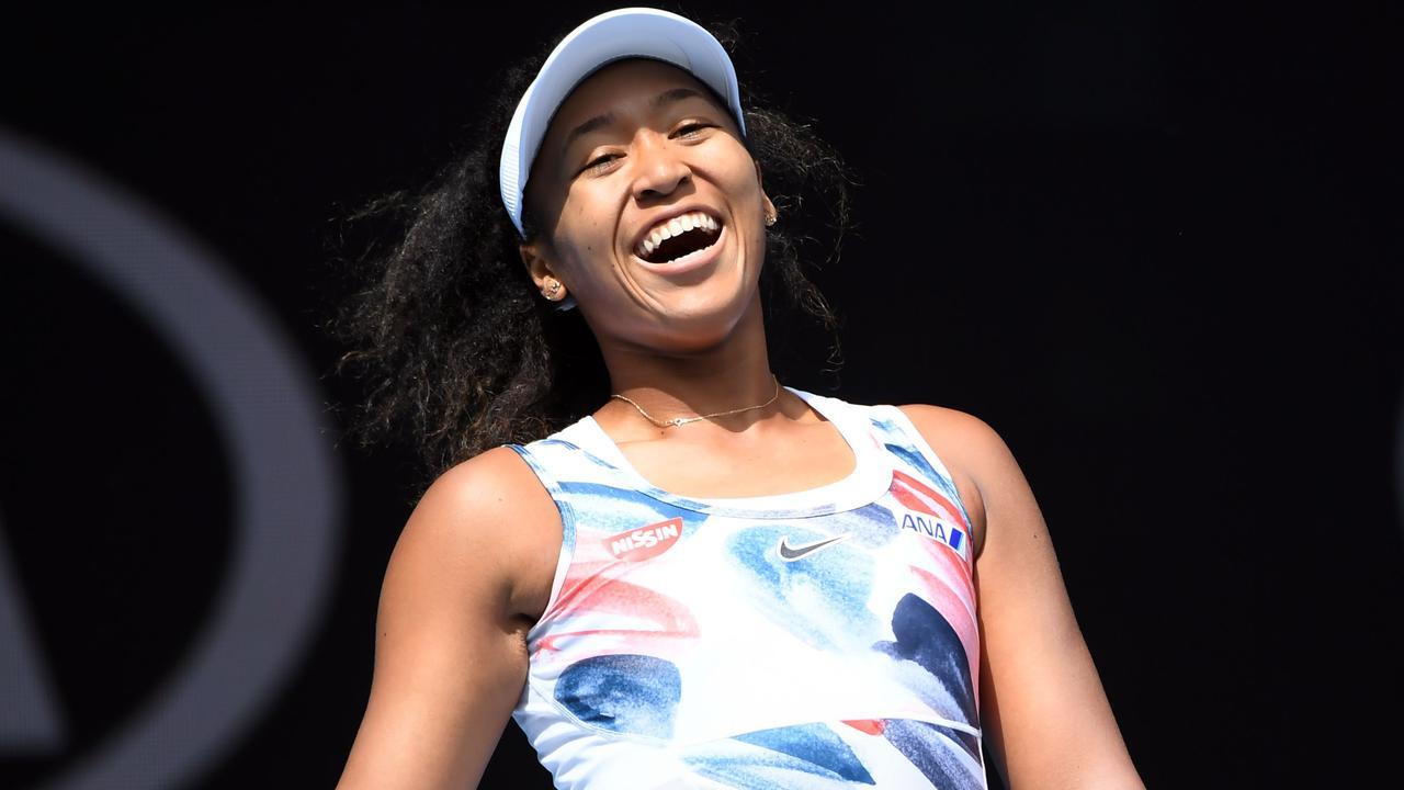 Naomi Osaka is having trouble containing her emotions at the Australian Open.