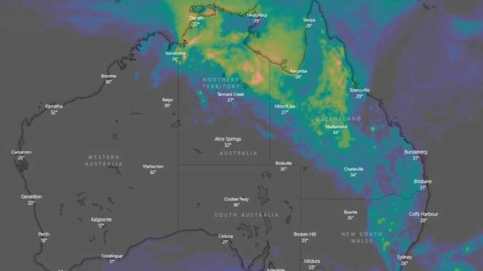 Large parts of Australia to cop dumping