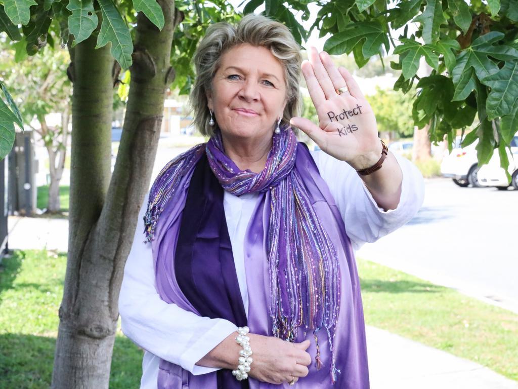 Bravehearts founder Hetty Johnston