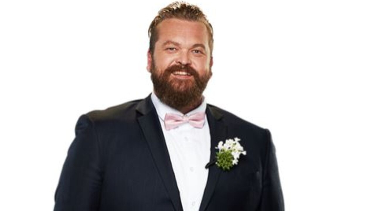 Single dad Luke also joins the MAFS cast. Picture: Channel 9.