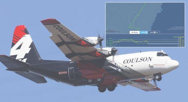 Water bombing plane wreckage found after bushfire crash