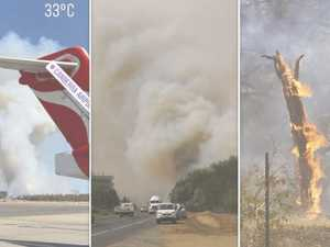 Fears C-130 Waterbomber crashed while fighting fires
