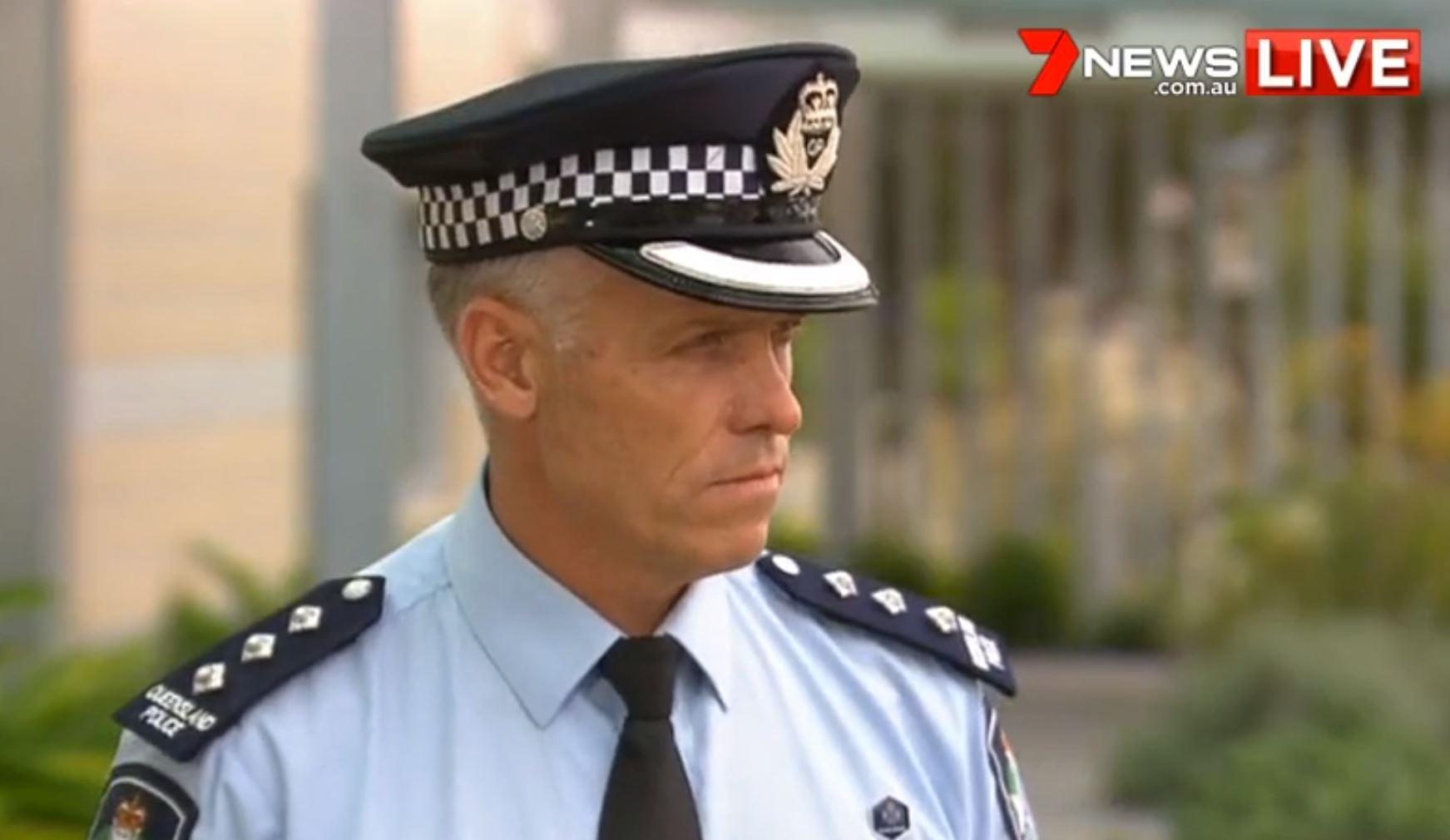 Moreton Police Inspector Craig White.