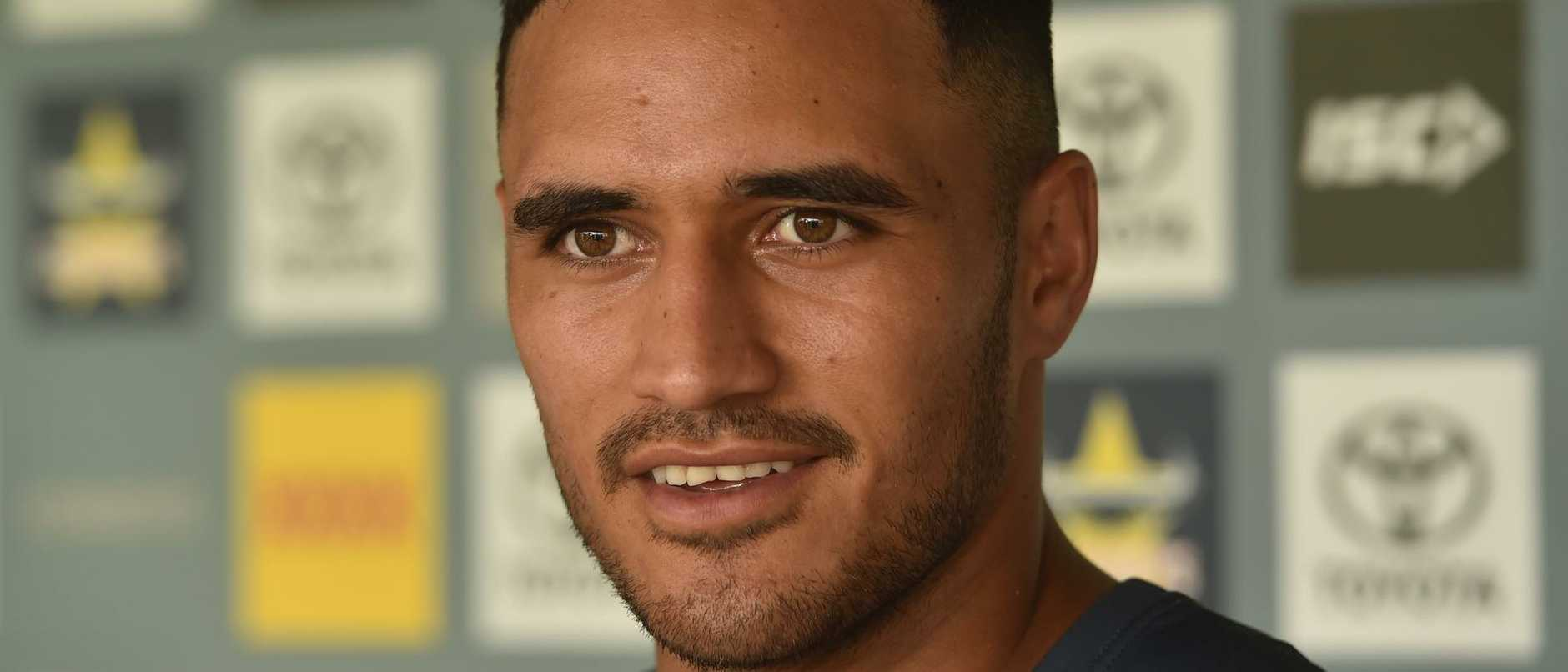 Valentine Holmes is aiming high in his NRL return.