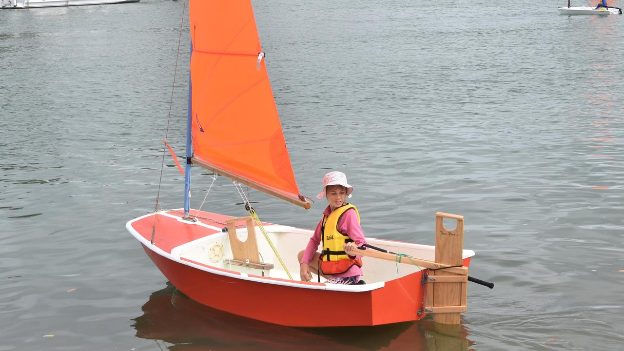 Talitha Cue at the Port Curtis Sailing Club's Junior Start Sailing Course January 21, 2020