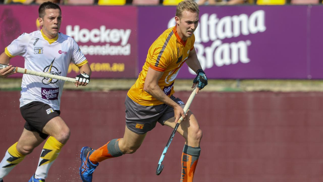 Last year Jacob Anderson played in the inaugural Hockey One series with runners-up team the Brizbane Blaze.