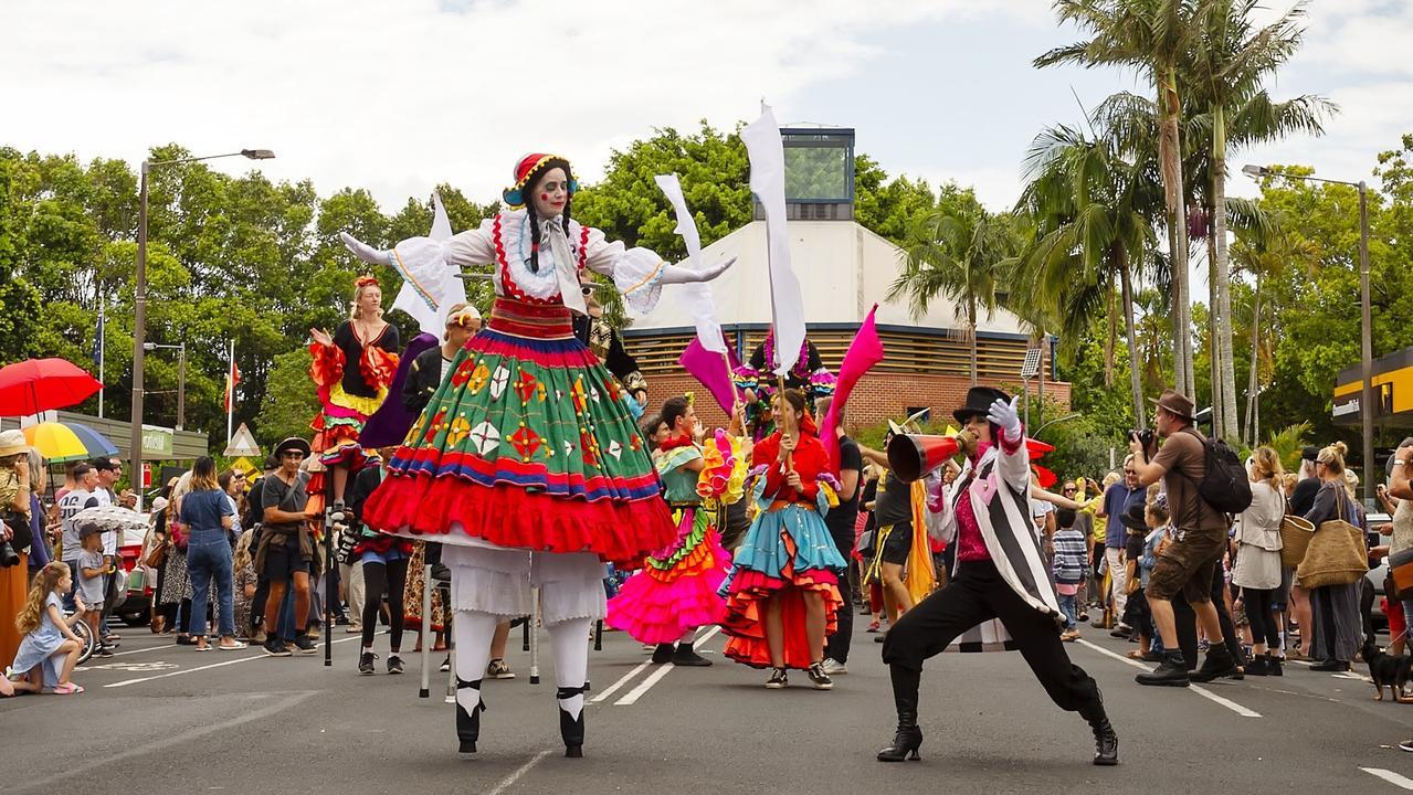 TRADITIONAL: The Mullum Music Festival Street Parade