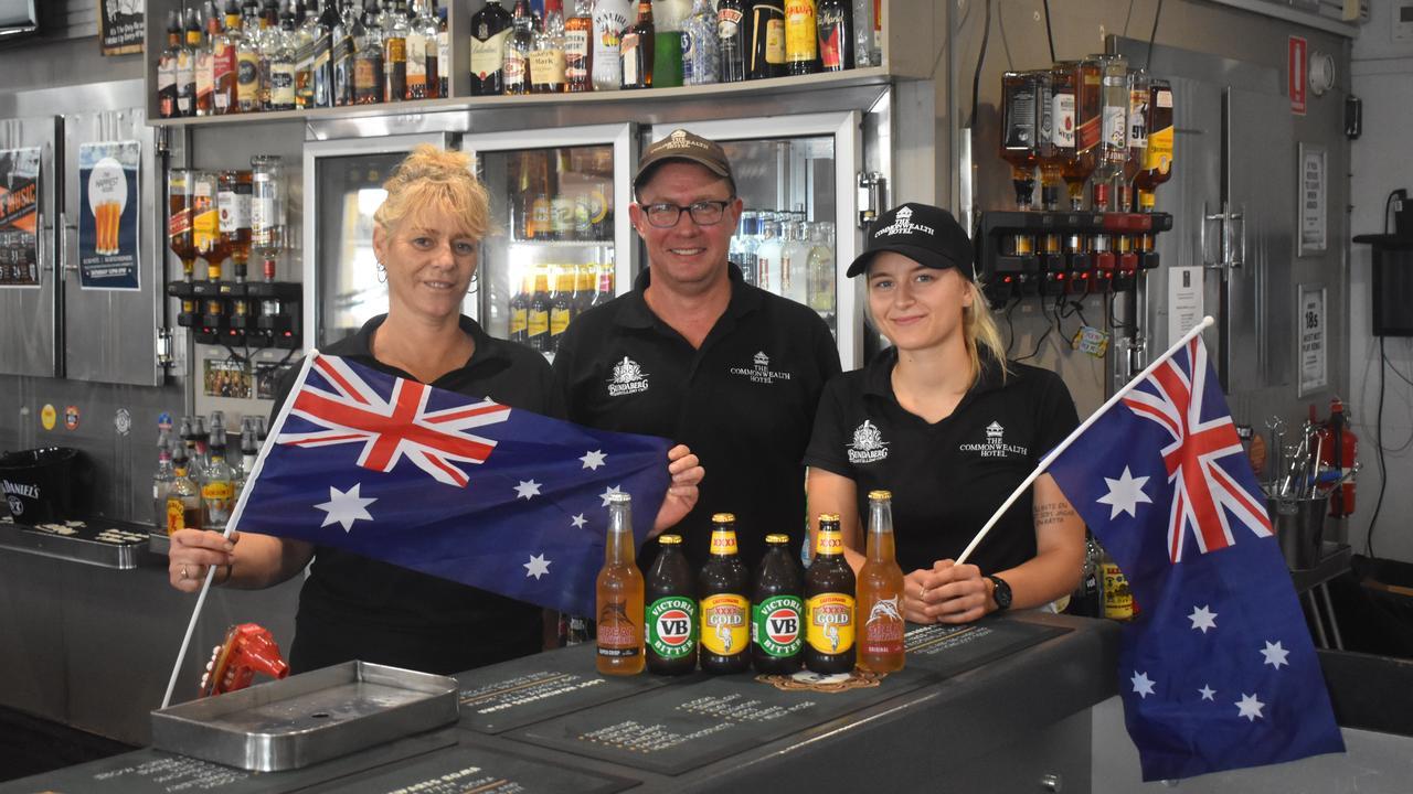 Australia Day at The Commonwelath Hotel.