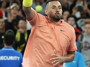 Maturity? Kyrgios cuts the 'bulls**t' to advance