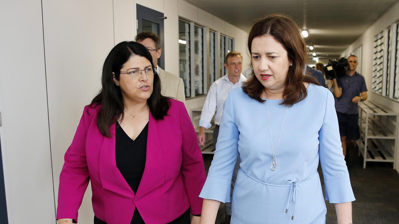 Premier Annastacia Palaszczuk said she wants Bundamba MP Jo-Ann Miller to remain in parliament. AAP Image/Josh Woning