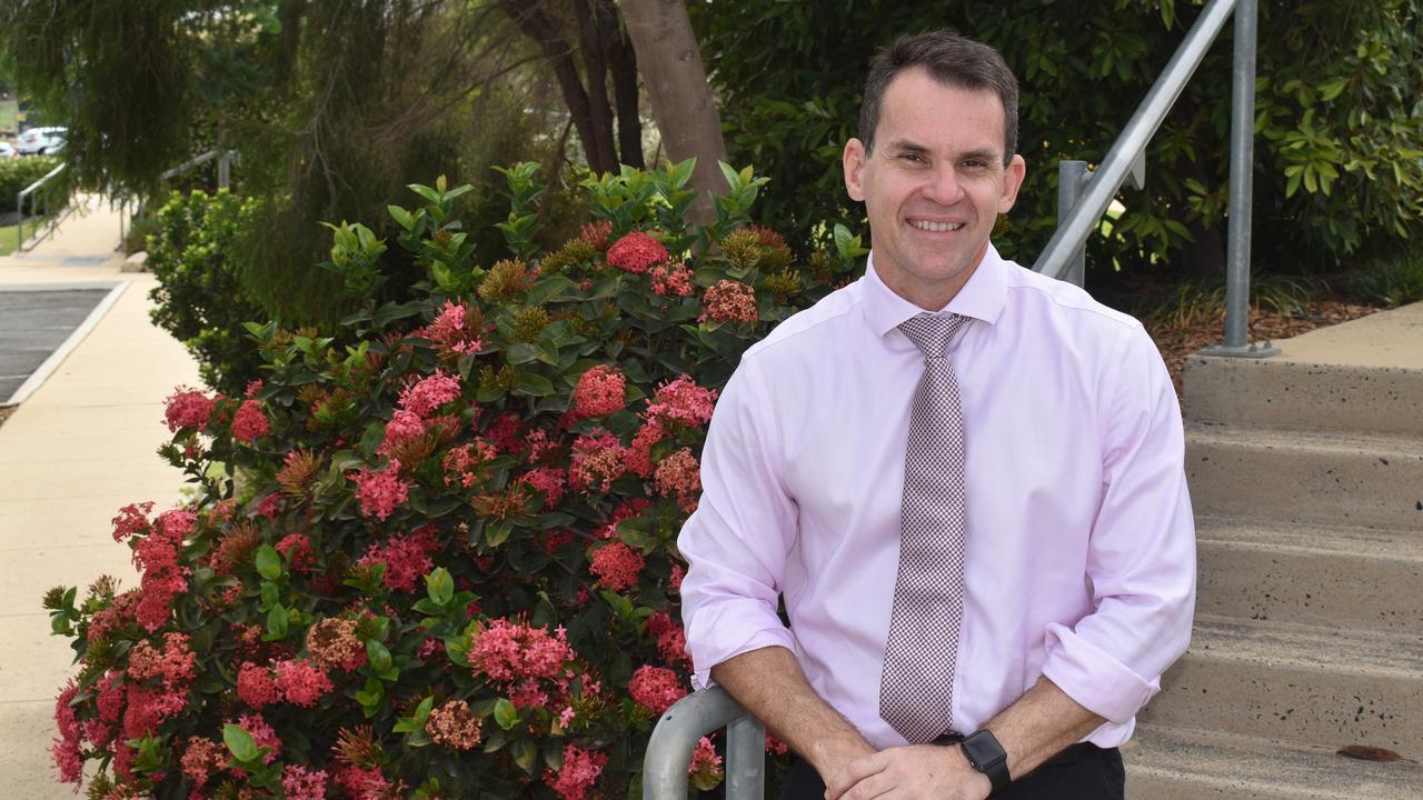 Faith Lutheran College Plainland's new principal Doug Braiden.