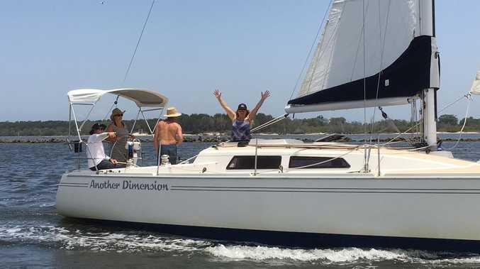 Yamba Yacht Club sails like the wind