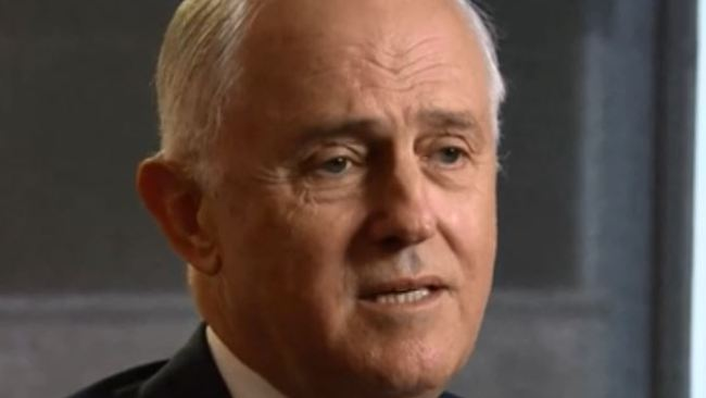 Malcolm Turnbull spoke to the BBC on Wednesday. Picture: BBC
