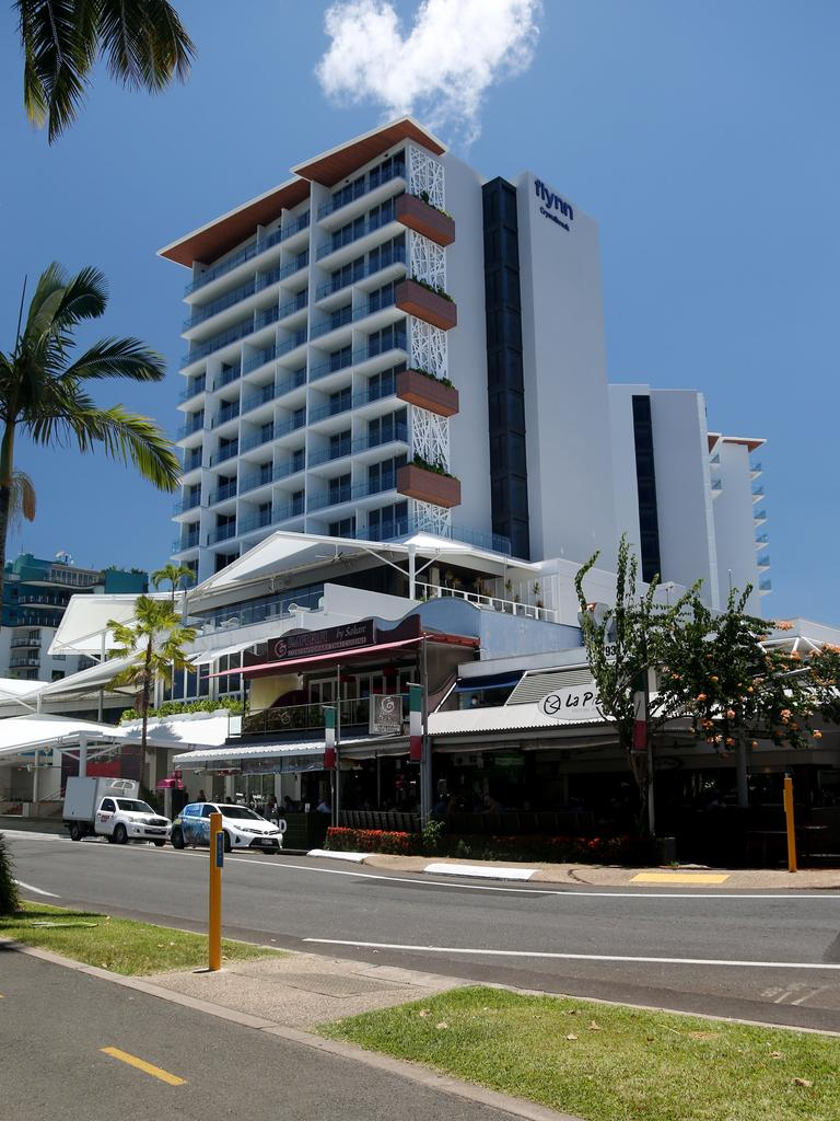 Crystalbrook Collection's Flynn Hotel on the Esplanade. PICTURE: STEWART MCLEAN