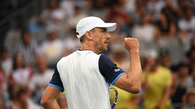 John Millman is ready for his biggest challenge. Picture: AAP Images