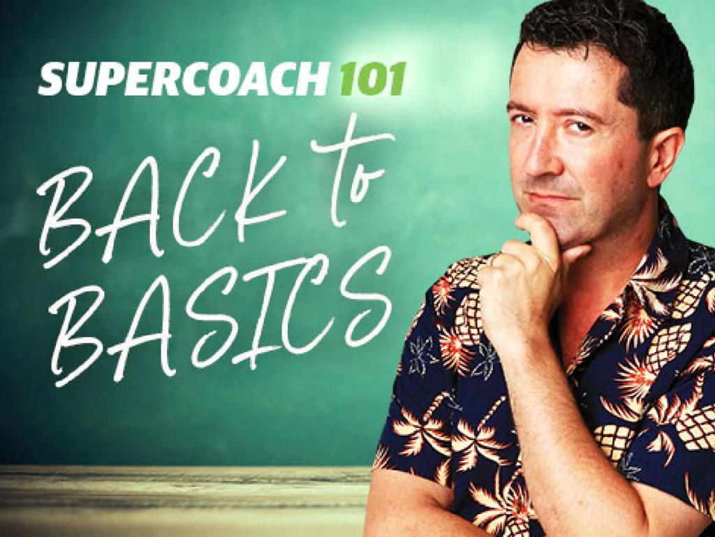 Rob Sutherland goes back to basics to explain how to play SuperCoach NRL