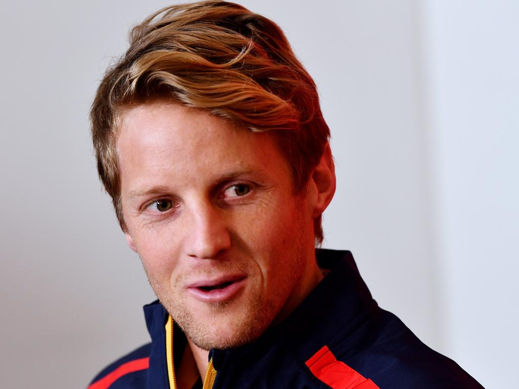 New Adelaide Crows captain Rory Sloane. Picture: AAP/Mark Brake)