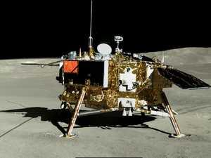 China release eerie moon pics