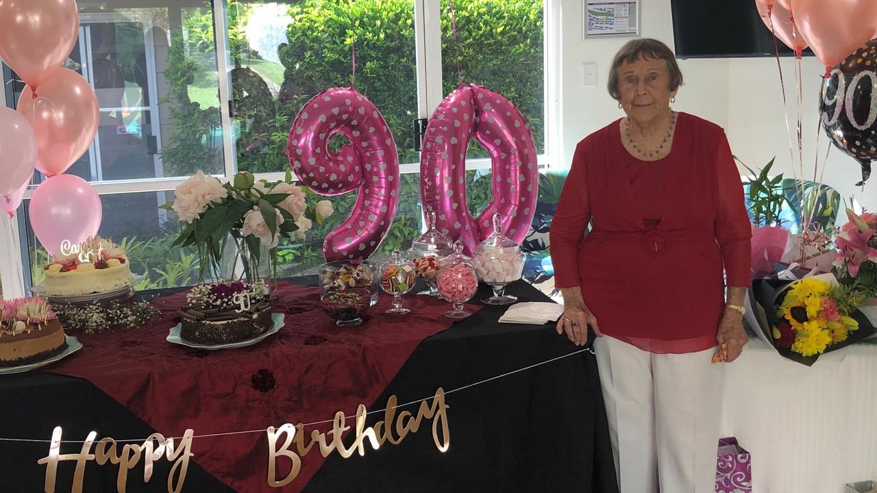 MILESTONE: Tewantin's Caroline McNaughton recent celebrated her 90th birthday.