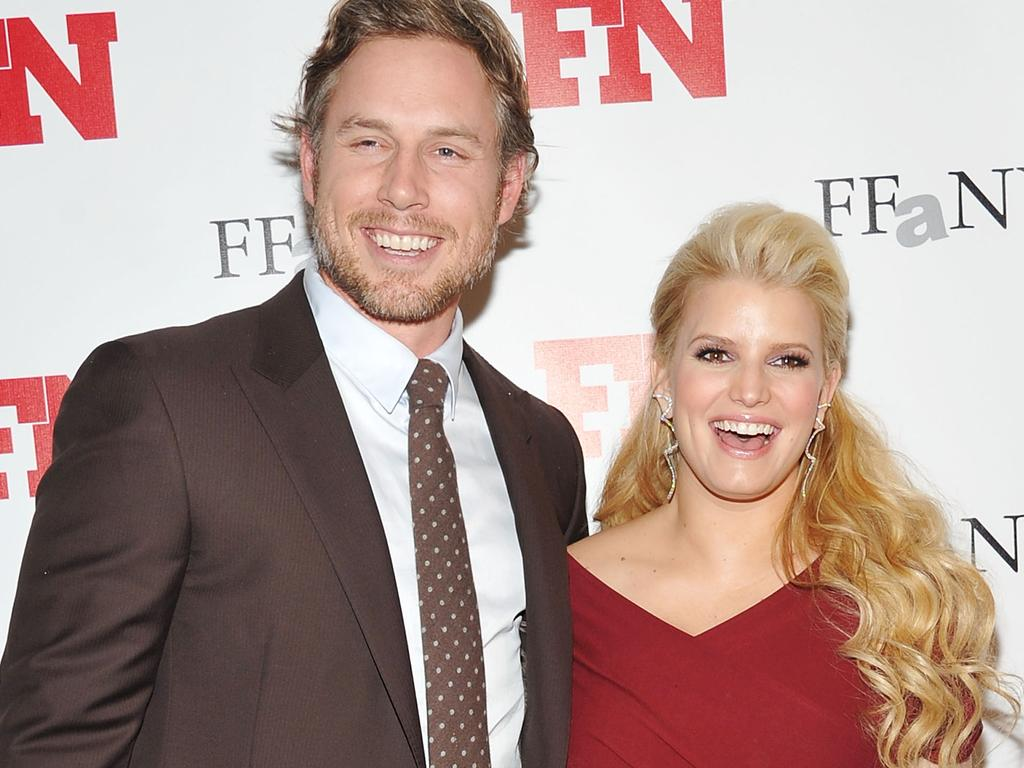 Jessica Simpson and Eric Johnson have three kids. Picture: Mike Coppola/Getty Images