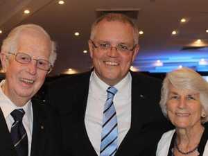 Scott Morrison's father has died