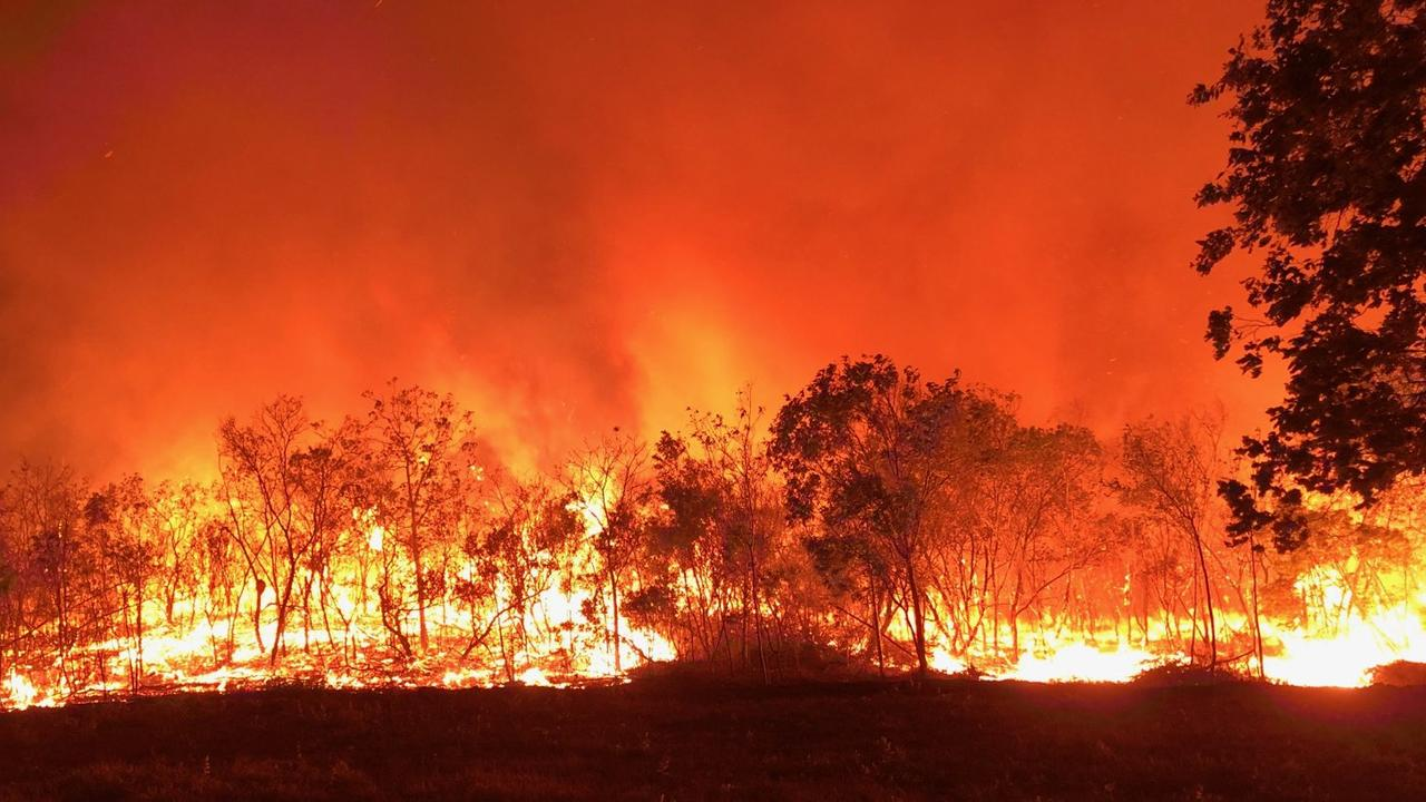RECENT BLAZE: This image captured the early stages of the Cobraball bushfire burning near Old Byfield Road in November is what our politicians are intent on avoiding as they discuss bushfire preparedness counterstrategies.