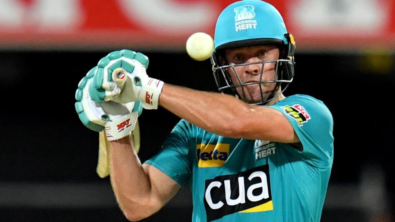 AB de Villiers of the Heat in action during the Big Bash League (BBL) cricket match between the Brisbane Heat and the Sydney Sixers at The Gabba in Brisbane, Thursday, January 23, 2020. (AAP Image/Darren England) NO ARCHIVING, EDITORIAL USE ONLY, IMAGES TO BE USED FOR NEWS REPORTING PURPOSES ONLY, NO COMMERCIAL USE WHATSOEVER, NO USE IN BOOKS WITHOUT PRIOR WRITTEN CONSENT FROM AAP