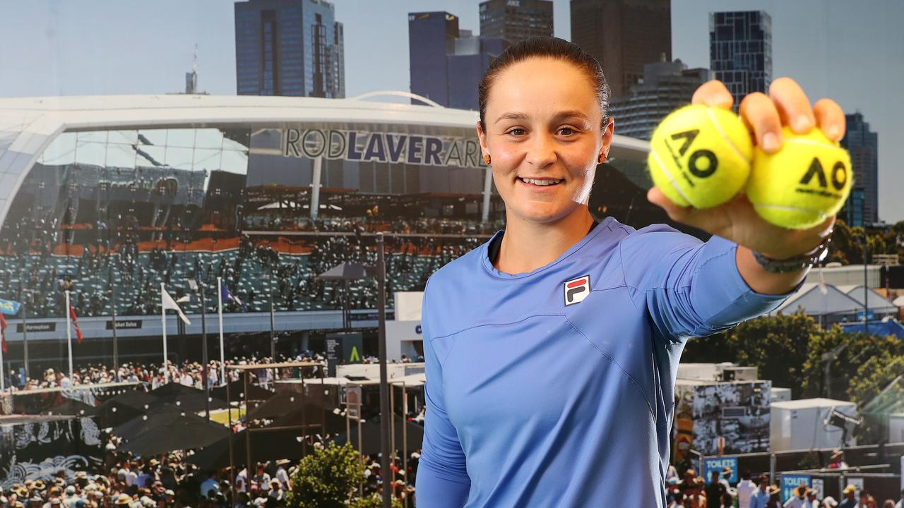 Aussie Barty secures 1st spot in Australian Open's fourth round