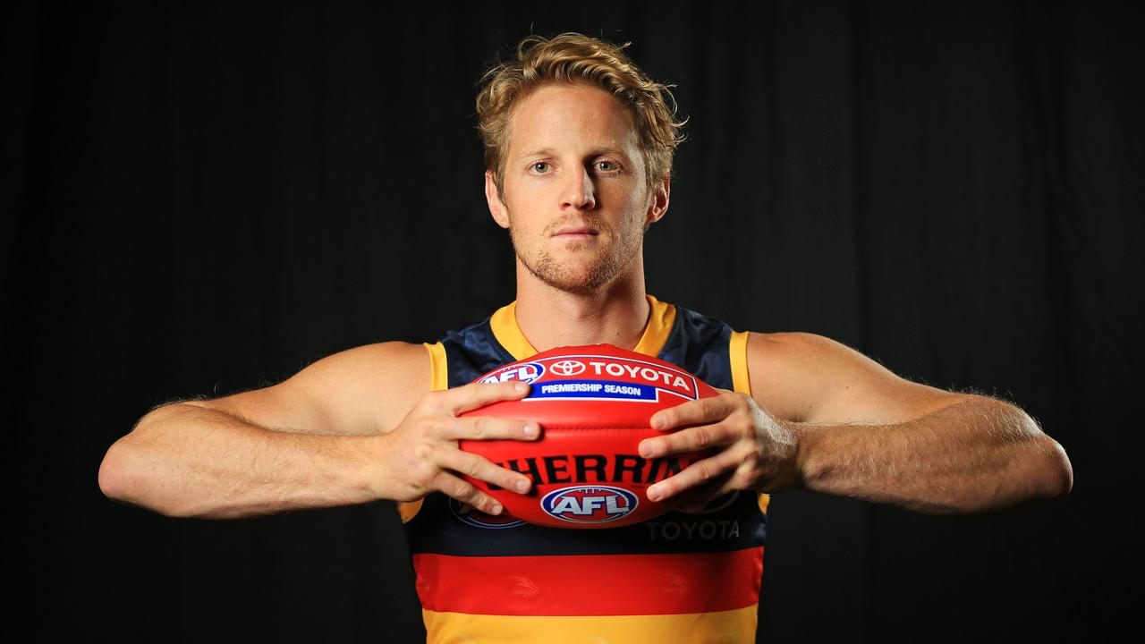 2020 Adelaide Crows captain Rory Sloane. Picture: Mark Stewart