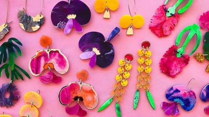 Artist's colourful designs capture region's beauty