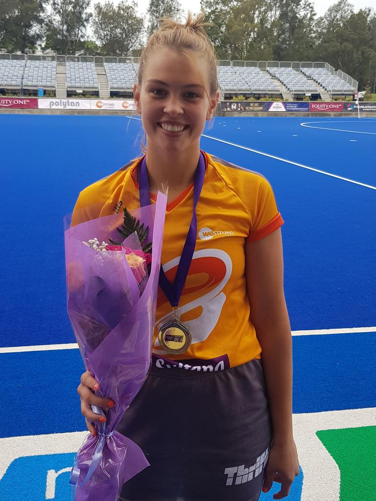 Morgan Mathison was elated after the thrilling final