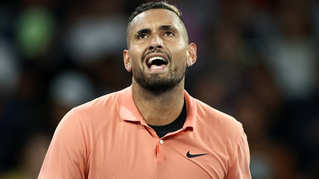 Nick Kyrgios is through to the third round.
