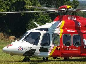 Teen flown to Gold Coast hospital with head injuries