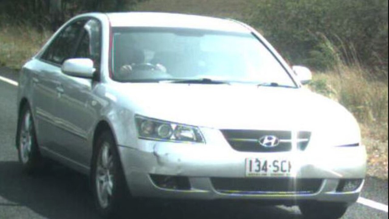 STOLEN VEHICLE: The silver 2007 Hyundai Sonata with Queensland registration 134-SCM, which was stolen from Cheyne Circuit in Tinana on Christmas Day.