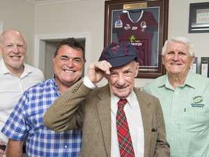 ( From left ) Jeff Miller, Queensland Rugby Chairman