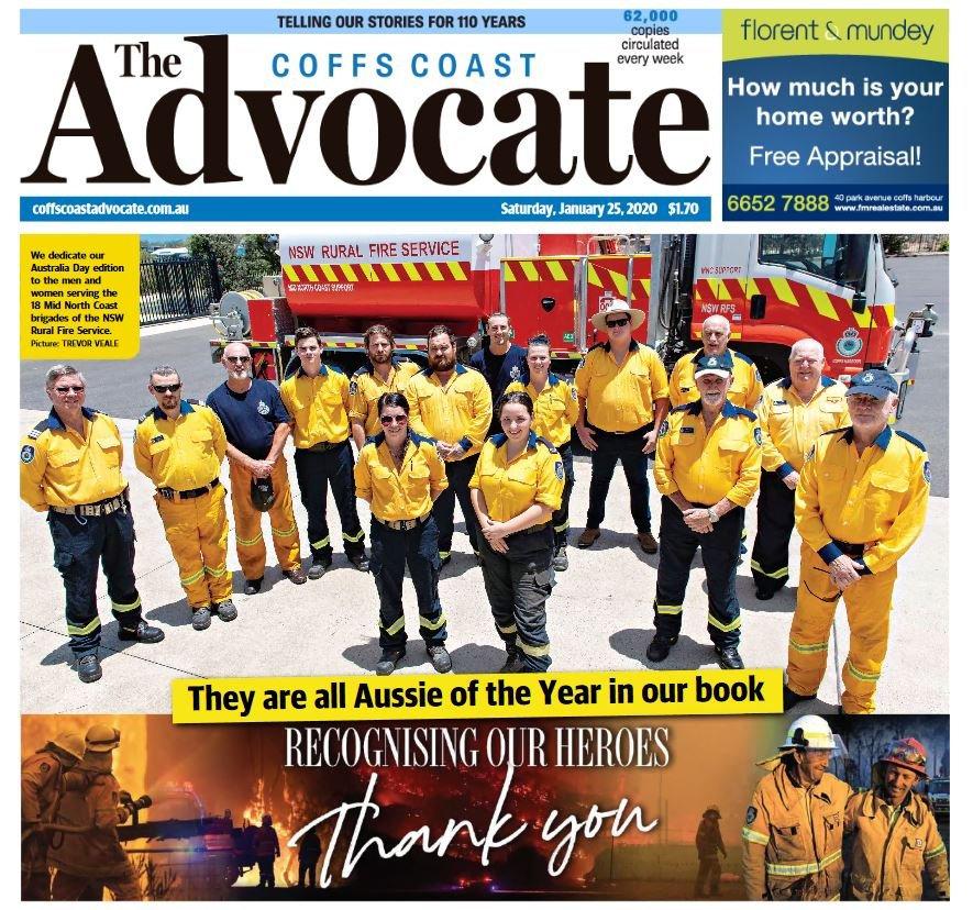 Australia Unites: Recognising Our Heroes.