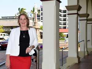 Cr Helen Blackburn in the Bundaberg CBD.