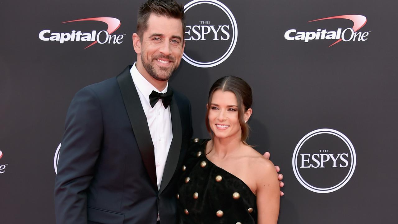 Aaron Rodgers got real with Danica Patrick.