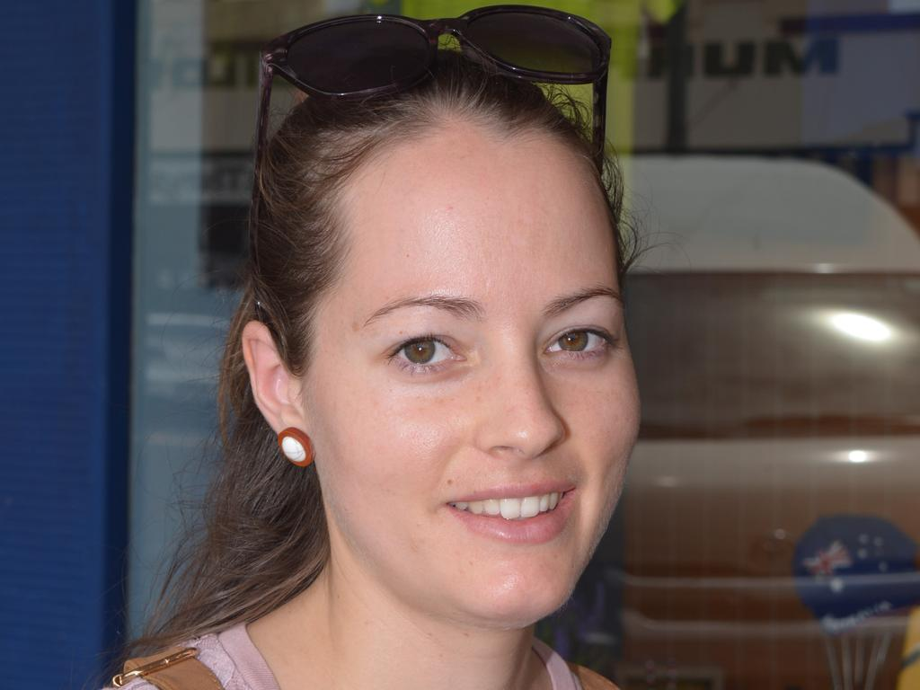 We will probably go to the local BBQ in Wondai and see family - Sarah Howard